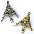 クリスマス商材☆キラキラブローチ☆ツリー