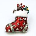 クリスマス商材☆キラキラブローチ☆靴下