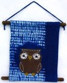 月の枕【タペストリー】【フクロウ】