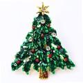 クリスマス商材☆キラキラピンブローチ タックピン☆ツリー