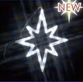 LEDクリスタルモチーフ室内型<クリスマス・イルミネーション・店舗・看板・クリスマスツリー・星・スター>