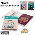 【アントレックス】必要なカード類も一緒に収納できる♪【ノベルパスポートカバー】