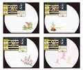 【キッチン】【ギフト】四季の花ごよみ/半月 おもてなしセット(和柄)【南天/松/梅/祝い鶴】<迎春>
