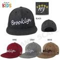 【セール品】【小さいサイズ】ブルックリン刺繍 KID`S BB
