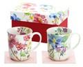 ■美濃焼ギフト■花しらべペアマグカップ