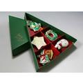 【京焼・清水焼】 京のクリスマス <箸置セット>