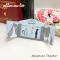 "【aller au lit】""プレゼントにも◎""〜Miniature Theater〜シリーズピアス-雪の女王-"