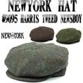 NEWYORK HAT  #9095 Harris Tweed Newsboy 14238