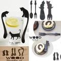 【人気のネコちゃんシリーズ】CAT WOODカトラリー&マドラー