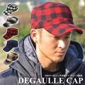 CASTANO x WOOLRICH チェック ドゴールキャップ ワークキャップ  ウーリッチ CAP