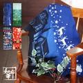 【日本製】クリスマス柄 注染 手ぬぐい 【和布華】