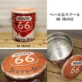 ペール缶スツール[66 ORANGE]<アメ雑>