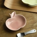 深山 apple りんご豆小皿 桃/pink[日本製/美濃焼/洋食器]