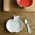 深山 apple りんご豆小皿 白磁/white[日本製/美濃焼/洋食器]