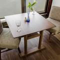 テーブル 幅85cm (ミディアムブラウン)【MI-51】