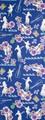 【日本製】アロハ 手ぬぐい ウクレレとフラ 注染 手拭い 【和布華】