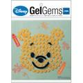 【Disney】ジェルジェムDバッグ S(プーさん/ドット)【GelGems】