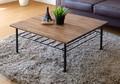テーブル 幅70cm (ミディアムブラウン)【LI-61】