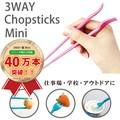 3WAY箸ミニ/セット【MY箸/ランチ/お弁当】