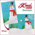 【アントレックス】可愛いクリスマスカード沢山♪【MGCカード(フリフリスノーマン)】