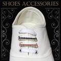 新商品!スニーカーの靴ひもに通して華やかなシューズアクセサリー☆。+ラインストーン