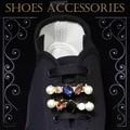 新商品!スニーカーの靴ひもに通して華やかなシューズアクセサリー☆。+煌くデザイン