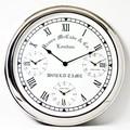 スチール/steel製【掛け時計】世界3都市時刻付き