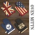 【フラッグシリーズ】オーブンミトン[USA・UK・ROUTE66・AIR FORCE]<アメ雑>