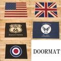 【フラッグシリーズ】ドアマット[USA・UK・ROUTE66・AIR FORCE・TARGET]<アメ雑>