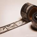 マスキングテープ/モノクロのネガフィルム