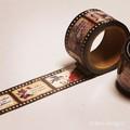 マスキングテープ/セピアのネガフィルム