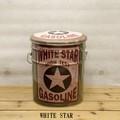 【欠品/次回未定】ペール缶スツール WHITE STAR【インテリア】【アンティーク】