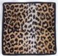 【新柄】 フェイラータオルハンカチ Leopard