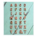 テラコッタアルファベット BN(ブラウン)