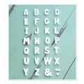 テラコッタアルファベット WT(ホワイト)