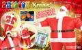 「特価」膨らむコスチューム♪ バルーンサンタ クリスマス
