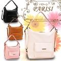 リュックとしても使える便利な2WAYショルダーバッグ☆。+PARISI-パリーシ-4色展開