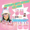 【お誕生日 バースデー】サングラス ハッピーバーズデー アイスクリーム コスプレ