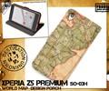 <スマホケース>Xperia Z5 Premium SO-03H(エクスぺリア プレミアム)用ワールドデザインケースポーチ