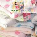 【SunnyDays】綿状の糸で作ったふっくらタオル♪サニードット&オアシスローズ&ケロケロ