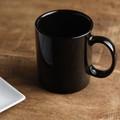 11.5cmシンプル切立マグカップ ピアノブラック[日本製/美濃焼/洋食器]