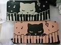 猫のぷーちゃん シッポ付き長財布 ピアノ音楽バージョン