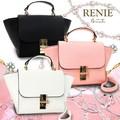 メタルの留め具がアクセントのバッグ♪*゚【RENIE-ルニエ-】3色展開