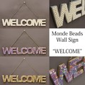 モンドビーズ[ウォールサイン(WELCOME)]