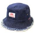 【SALE】クラッシュ デニム バケット ハット(CRUSH DENIM BUCKET HAT)