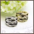 【指輪】メタルのアンティークデザインリング【2色】
