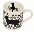 黒猫マグカップ【 ディアキャッツシリーズ 】