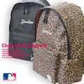 【当社生産 国内ライセンス】ヤンキース チェーンステッチ リュック バッグ デイパック ねこ