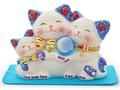 【風水 開運 雑貨】たまねこファミリー 金運 招き猫 インバウンド 日本 お土産 和雑貨 ネコ まねきねこ
