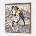 【ポップアート】キャンバスシリーズ 2166033- ビーグル【動物/犬】